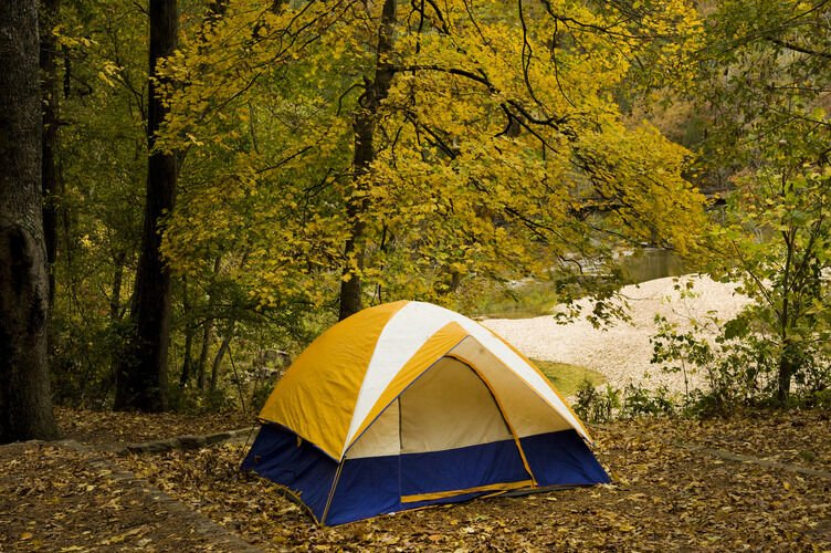 Start camping in Arkansas