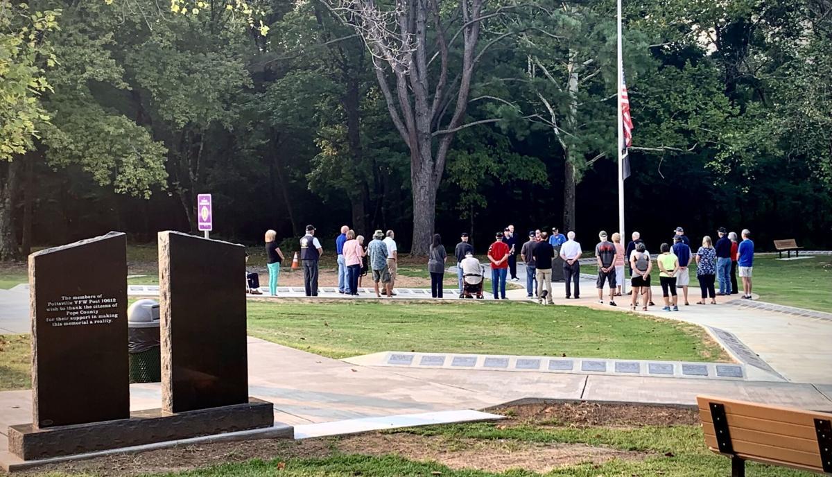 Patriot's Day Commemoration at Veteran's Memorial Park