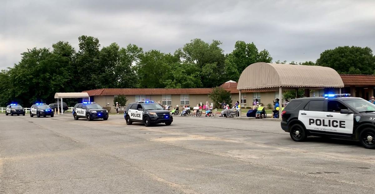 Legacy Heights residents enjoy drive by parade with family and friends