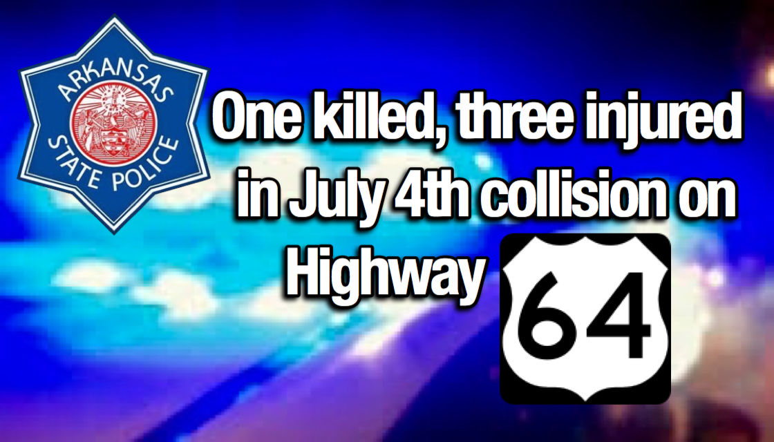 One killed, three injured in July 4th collision on Highway 64