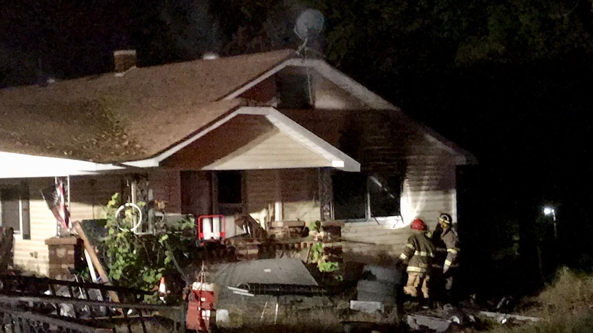 London Fire Department contains and extinguishes fire in home on SR 333