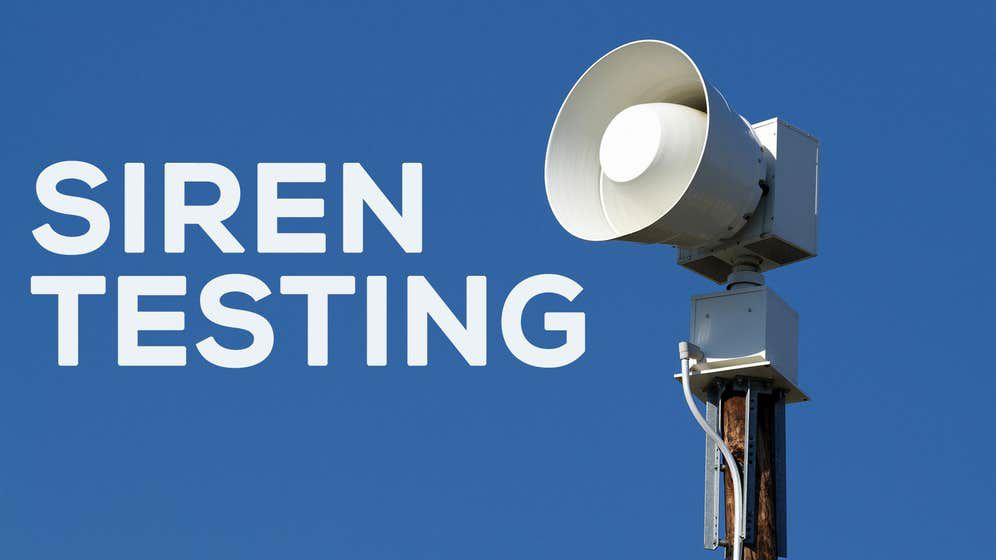 Arkansas Department of Health to conduct sound level testing on sirens May 27-29
