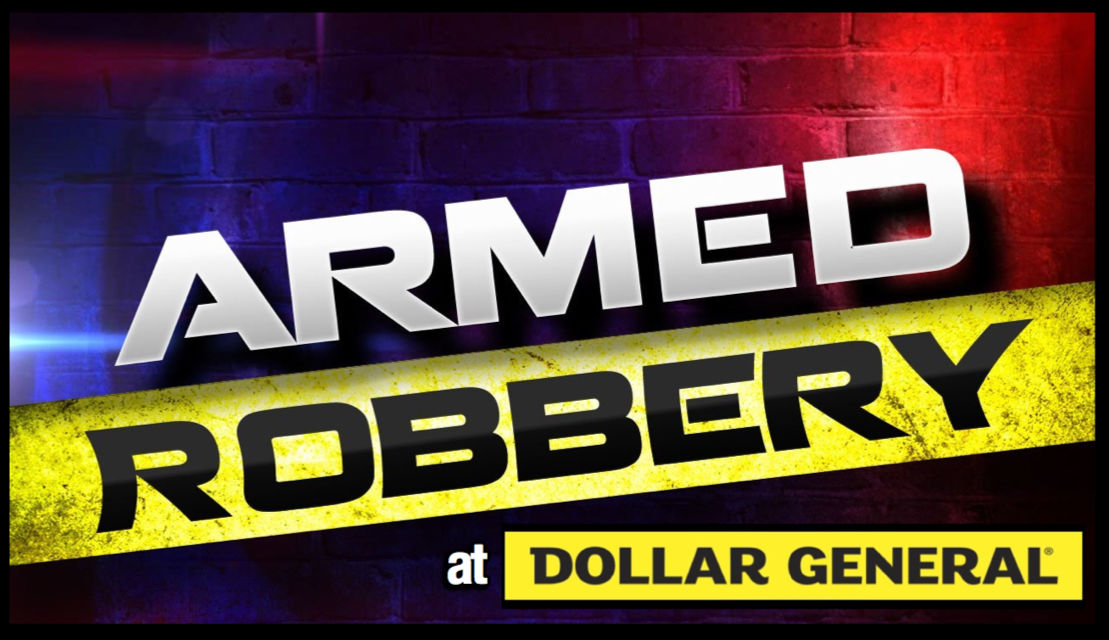 Russellville Police seek information and suspect's identity following Thursday night Armed Robbery at Dollar General
