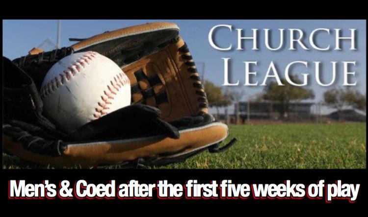 Russellville Church League Softball Standings