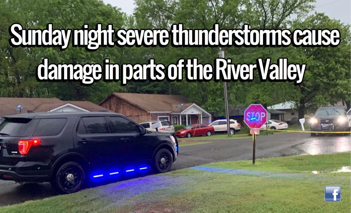Easter storms cause damage in parts of the River Valley
