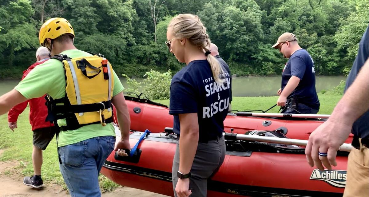 Pope County OEM responds to Long Pool Recreational area to perform water rescue
