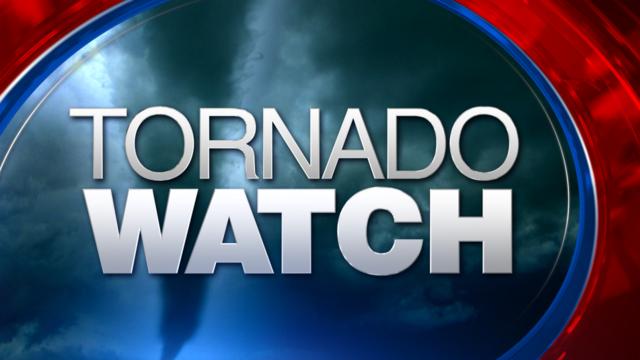 Tornado Watch in effect until 2 a.m.