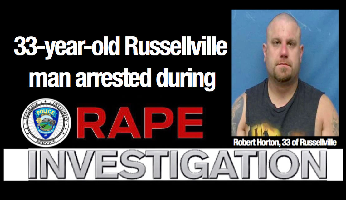 33-year-old Russellville man arrested; charged with Distributing, Possessing or Viewing of Matter Depicting Sexually Explicit Matter Involving a Child