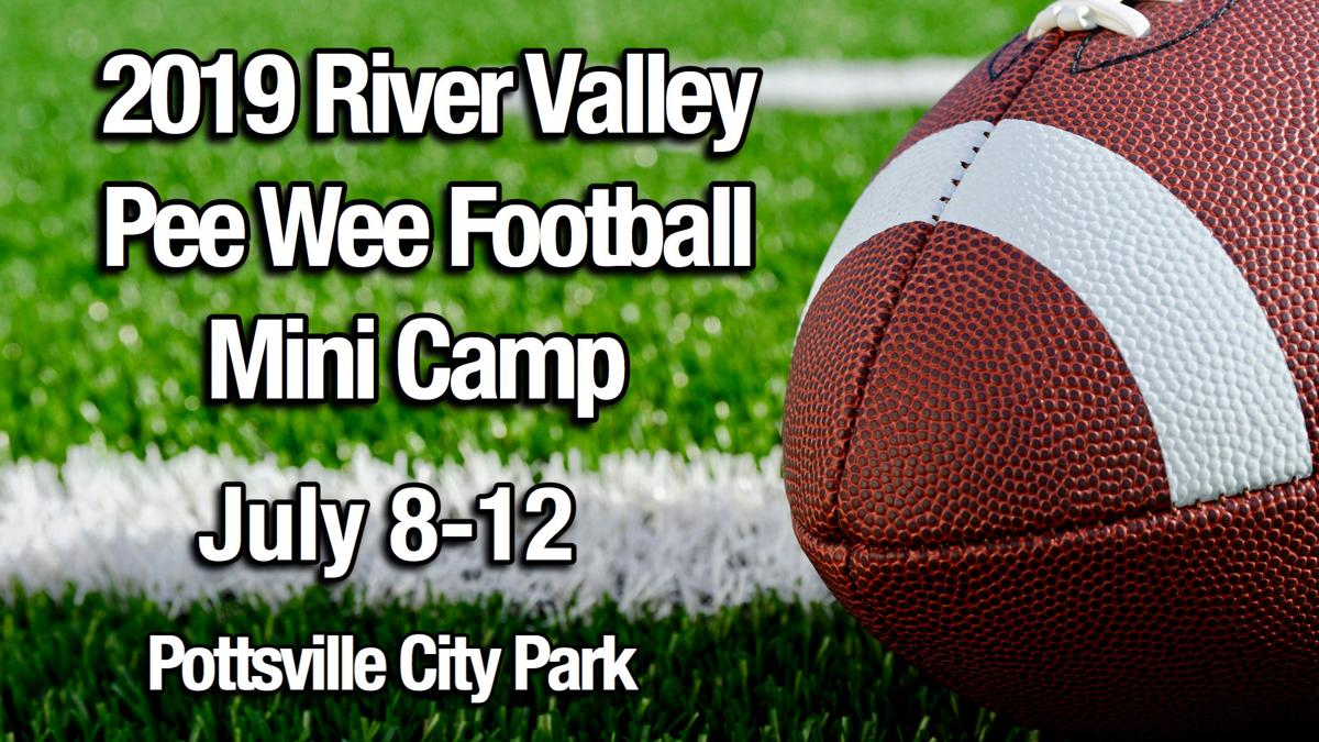 2019 River Valley Pee Wee Football Mini Camp set July 8-12