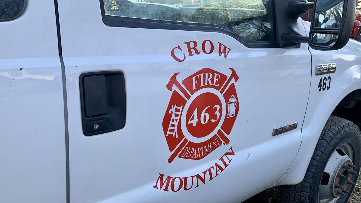 Crow Mountain Fire Department extinguishes vehicle fire on Austin Lane