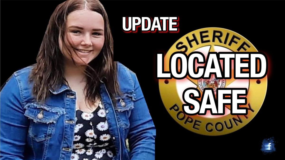 Missing 15-year-old located safe