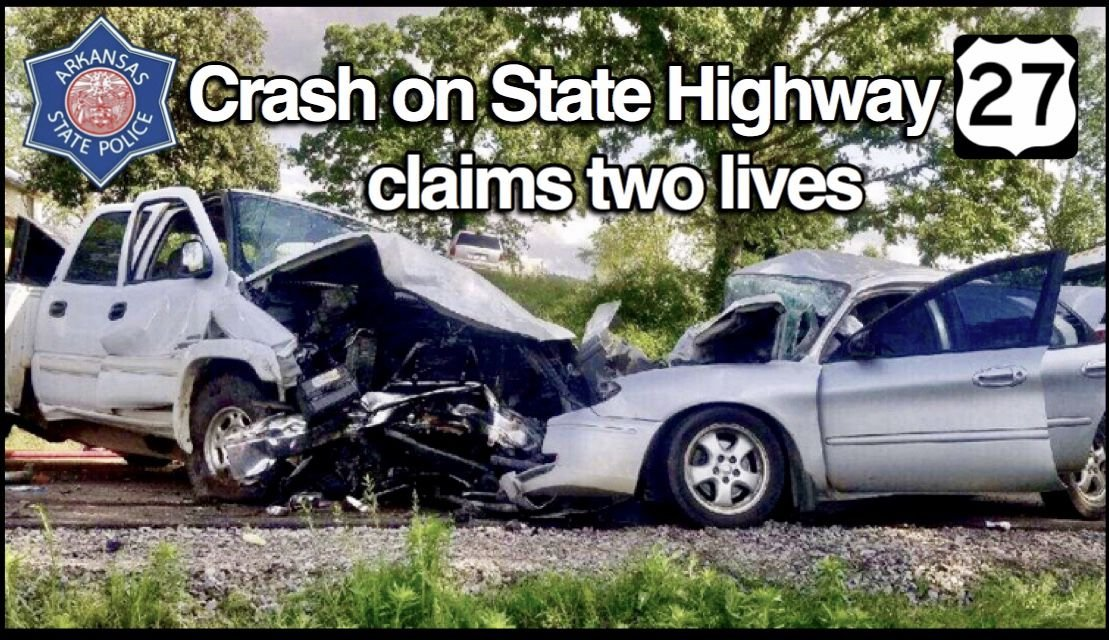 Thursday afternoon crash on State Highway 27 claims life of