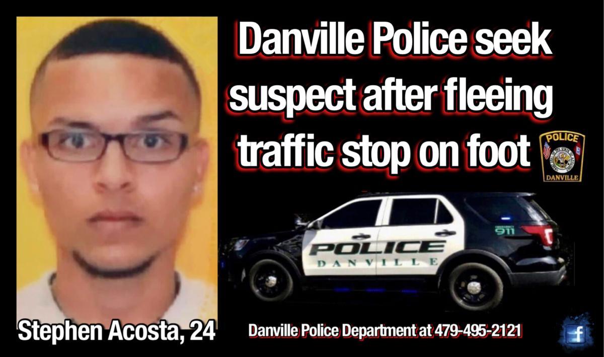 Danville Police Department seek suspect after fleeing traffic stop on foot
