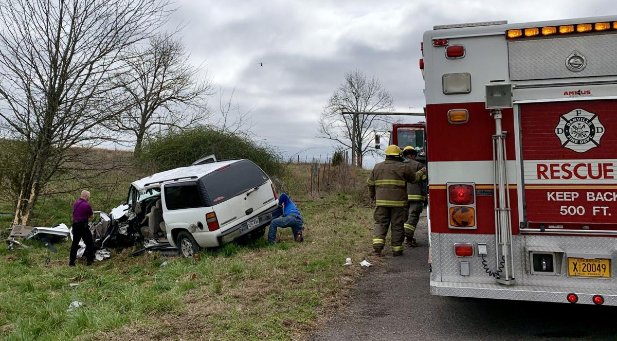 Driver extricated and airlifted from entrapment collision on Highway 7 near Ola