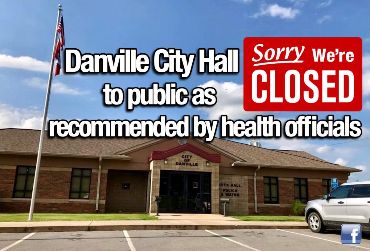 Danville City Hall closed to public as recommended by health officials