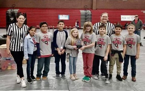 Oakland Robotics Team wins Excellence Award in the VEX Tournament at RJHS
