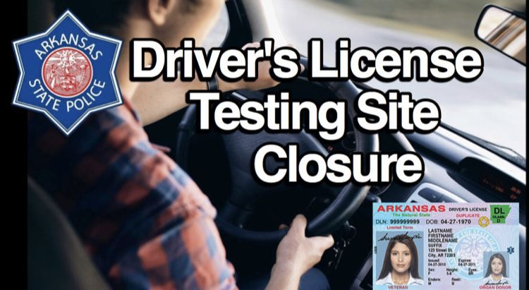 Russellville Driver's Testing Center closed Thursday, April 18th