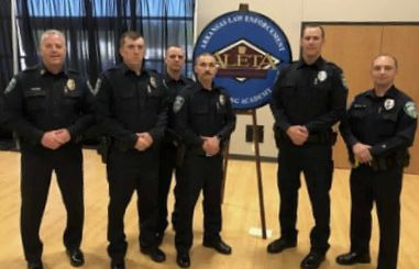 Russellville Police Department congratulates new officers graduating from Arkansas Law Enforcement Training Academy
