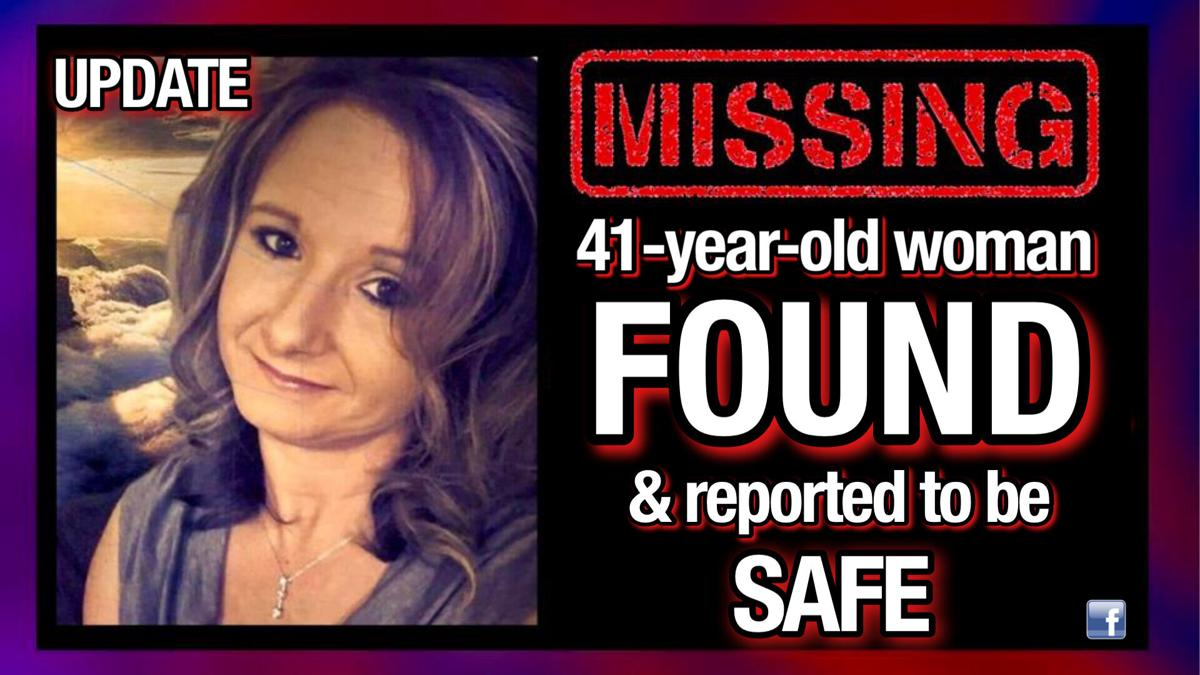 UPDATE: MISSING 41-year-old woman found safe