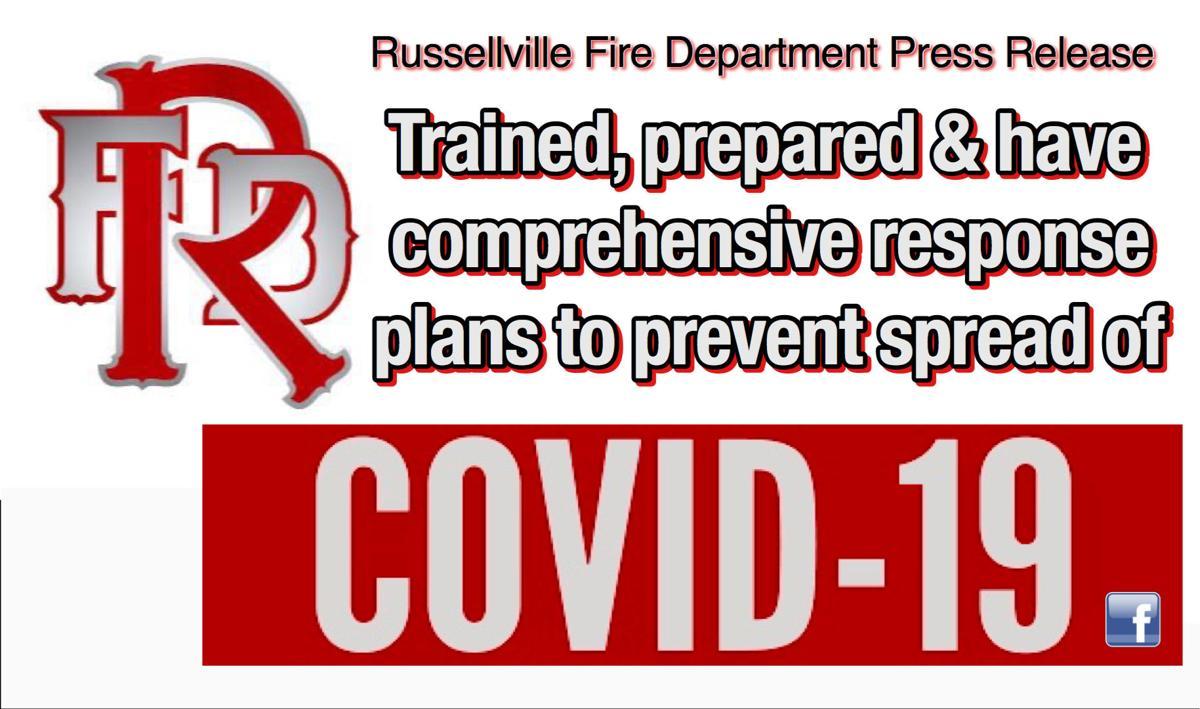 Russellville Fire Department Press Release