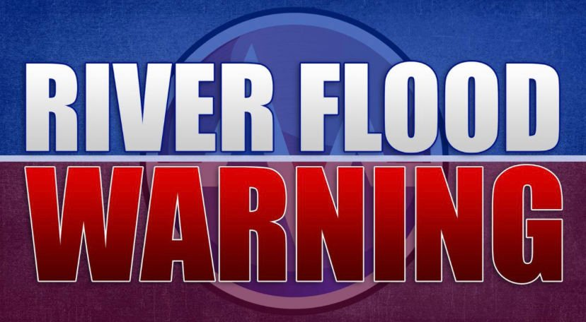 River Flood Warning until Saturday afternoon for Petit Jean River at Danville
