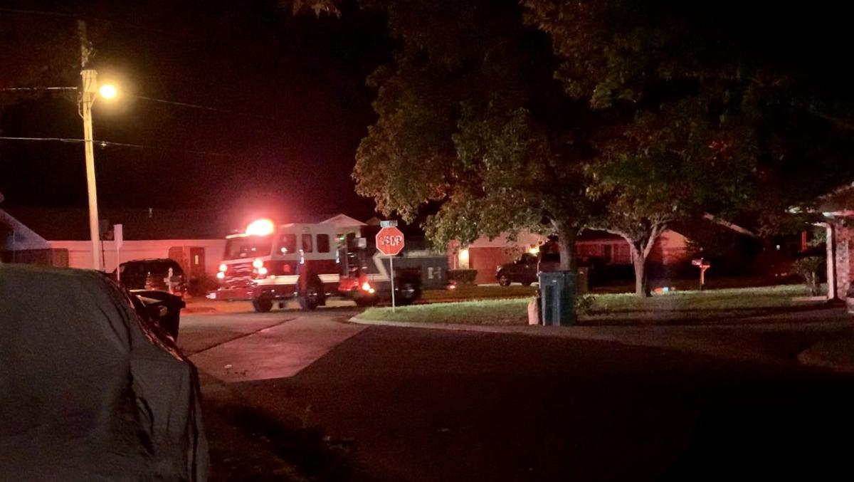 RFD fights garage fire on Meadowbrook Lane, EMS responds due to reported injury