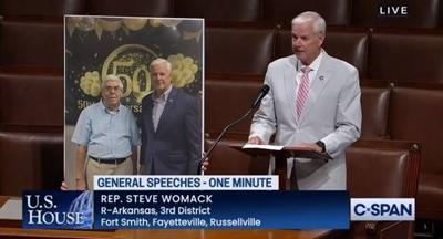 Womack Pays Tribute to Russellville's Robyn Richardson on House Floor