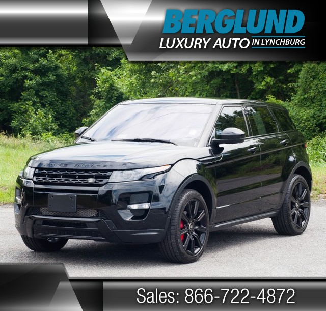 2014 Black Land Rover Range Rover Evoque