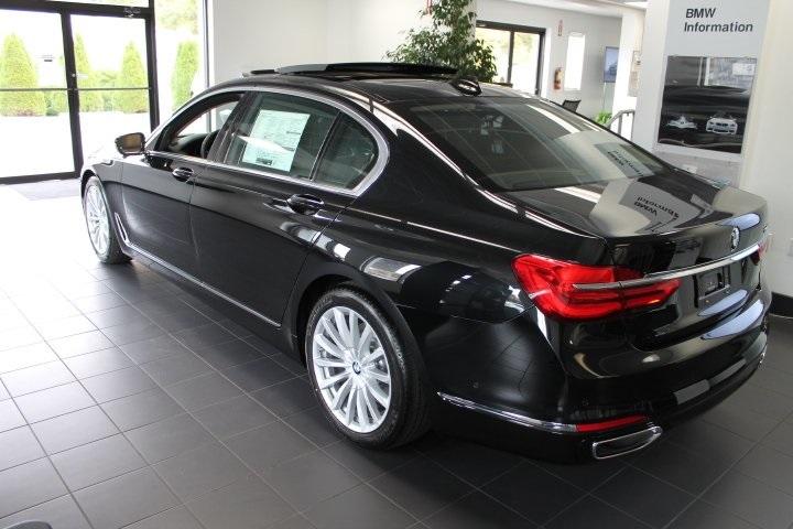 2016 Black Sapphire Metallic BMW 740