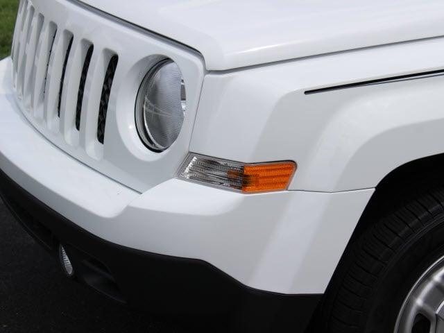2017 White Jeep Patriot