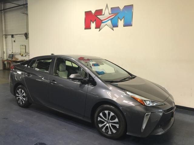 2020 Magnetic Gray Metallic Toyota Prius