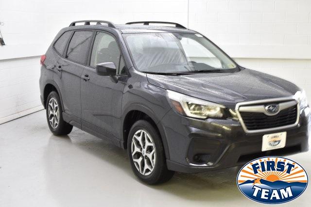 2019 Dark Gray Metallic Subaru Forester Suvs Roanoke Com