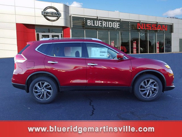 2016 Cayenne Red Nissan Rogue Roanoke Times Suv