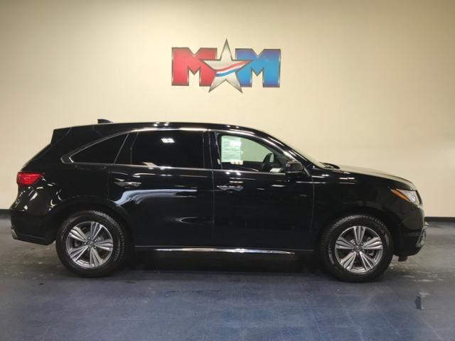 2020 Majestic Black Pearl Acura MDX