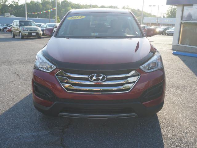 2013 RED Hyundai Santa Fe