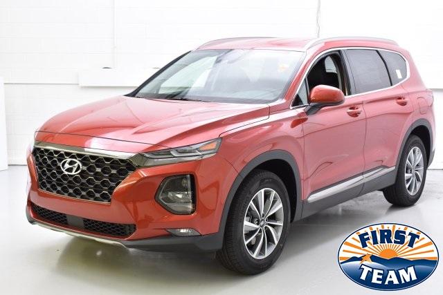 2019 Lava Orange Hyundai Santa Fe