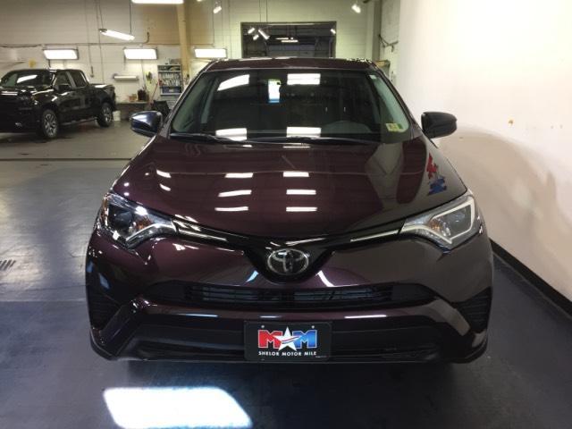 2018 Black Currant Metallic Toyota RAV4