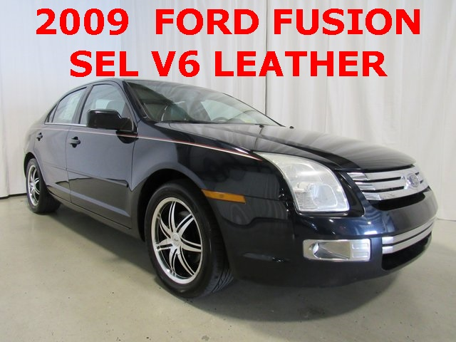2009 Blue Ford Fusion