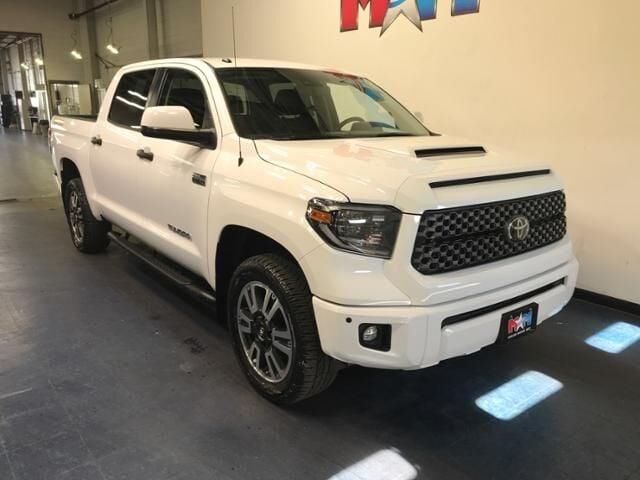 2019 Super White Toyota Tundra