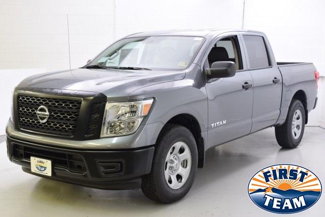 Blue Book Value Trucks >> 2018 Gun Metallic Nissan Titan | Trucks | roanoke.com