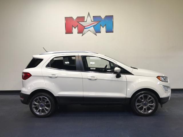 2018 Diamond White Ford EcoSport