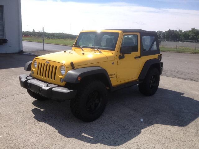 2015 Baja Yellow Clearcoat Jeep Wrangler   SUVs   roanoke.com