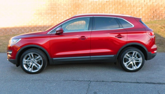 2015 Ruby Red Metallic Tinted Clearco Lincoln Mkc
