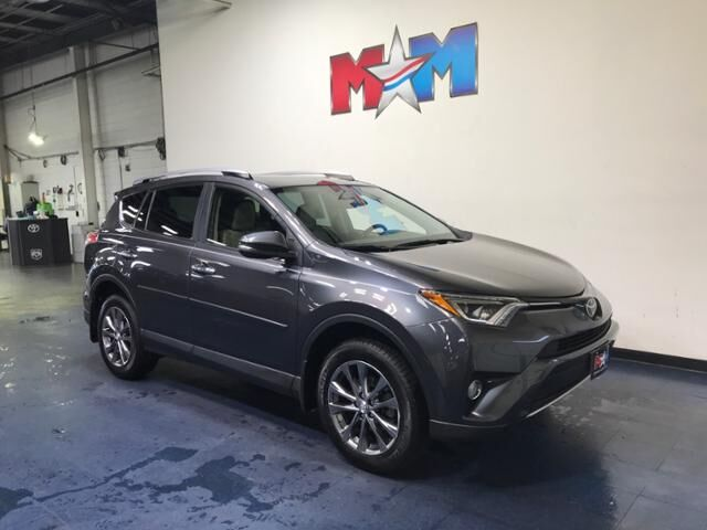 2018 Magnetic Gray Metallic Toyota RAV4