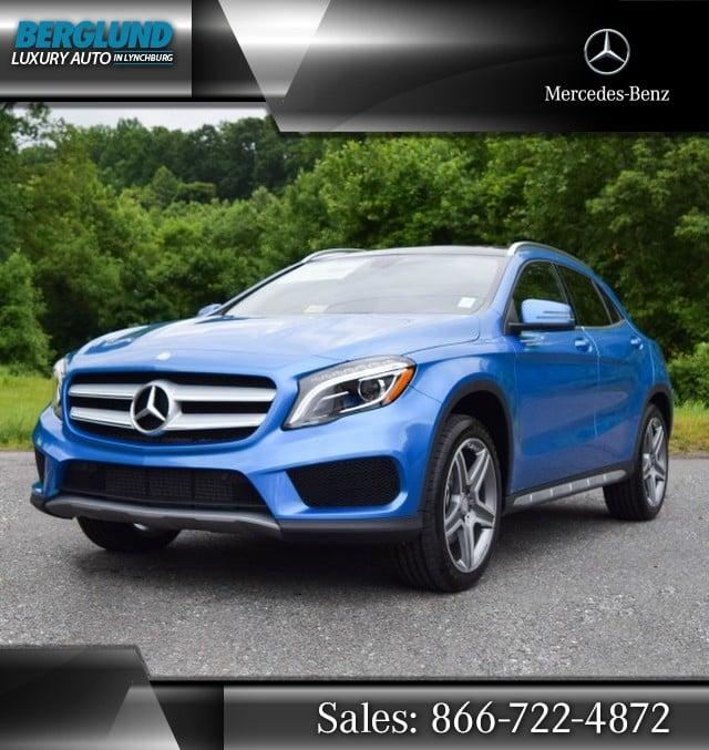 2015 South Seas Blue Metallic Mercedes-Benz GLA-Class