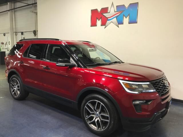 2018 Ruby Red Metallic Tinted Clearcoat Ford Explorer