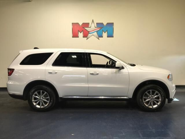 2018 White Knuckle Clearcoat Dodge Durango