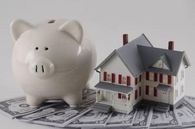 Mortgage Savings stock image