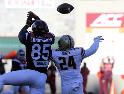Transferring Virginia Tech tight end Chris Cunningham joins