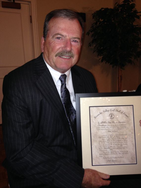 Willard inducted into golf hall of fame